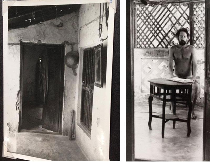 Ansley in Lamu 1976